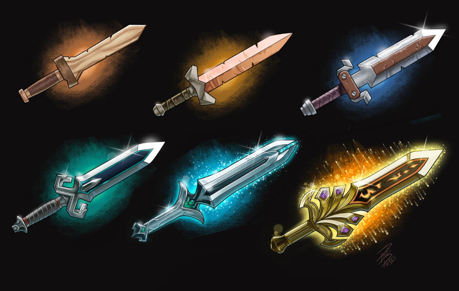 Paulo peres rpg swords paulo peres2