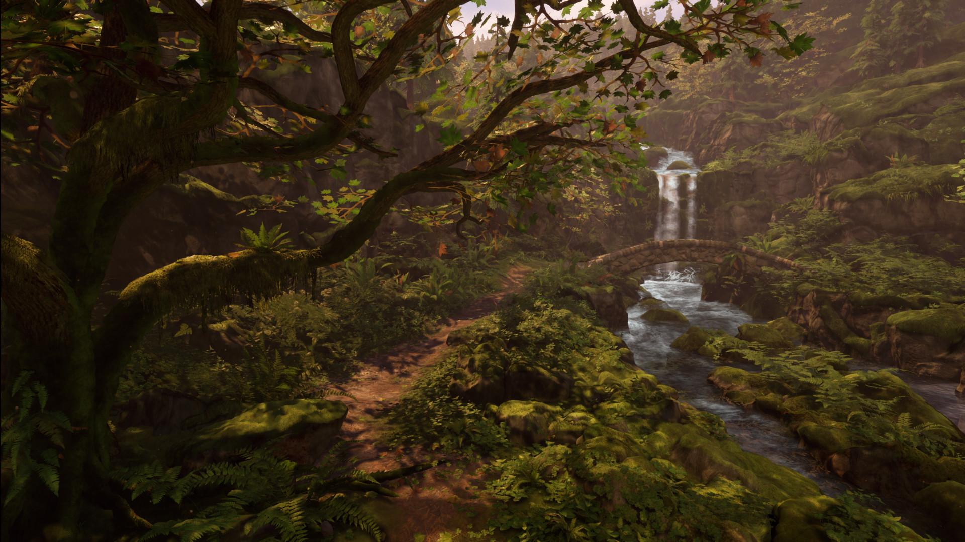 Alina godfrey enchanted falls path