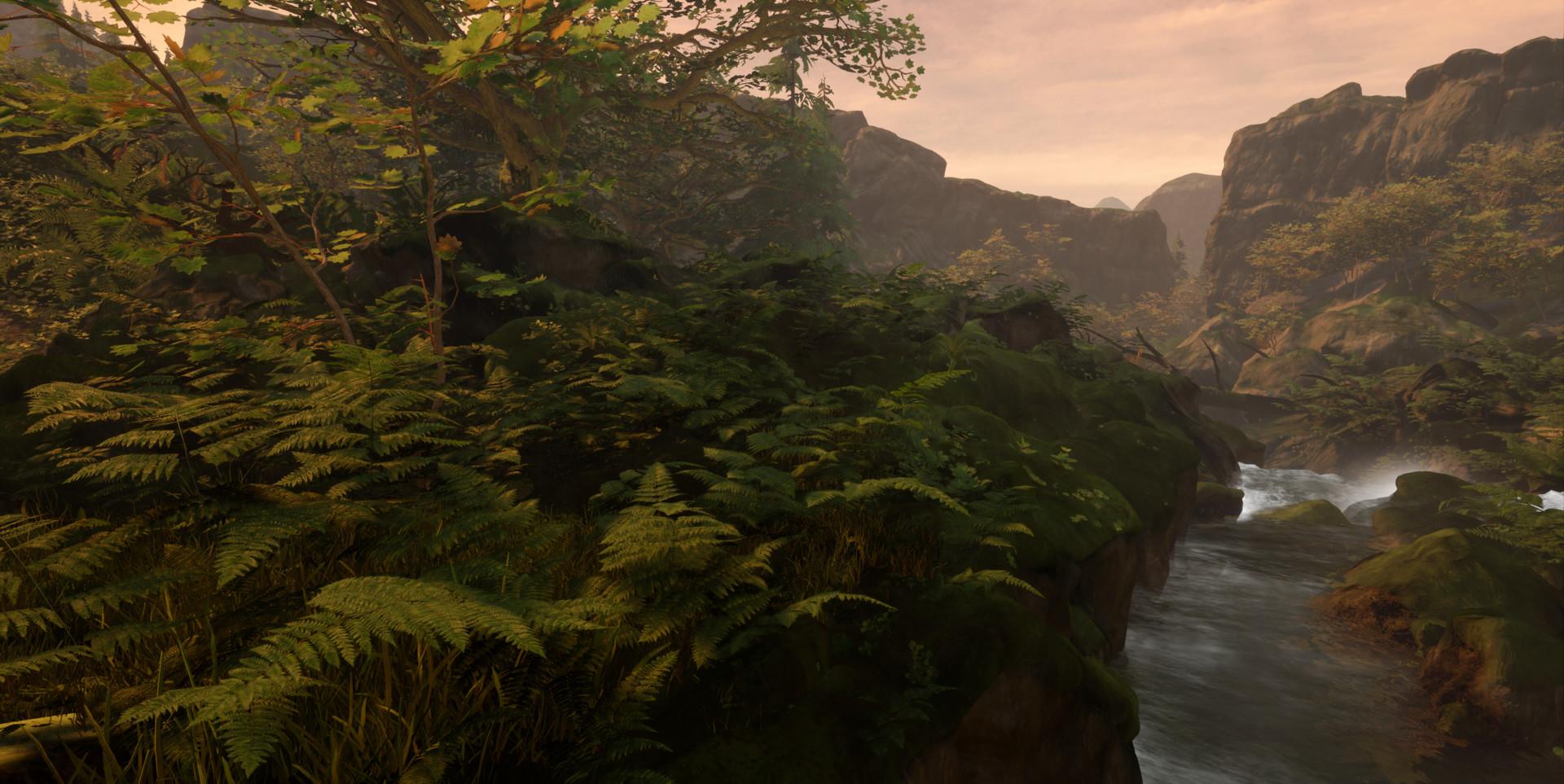 Alina godfrey enchanted falls ferns