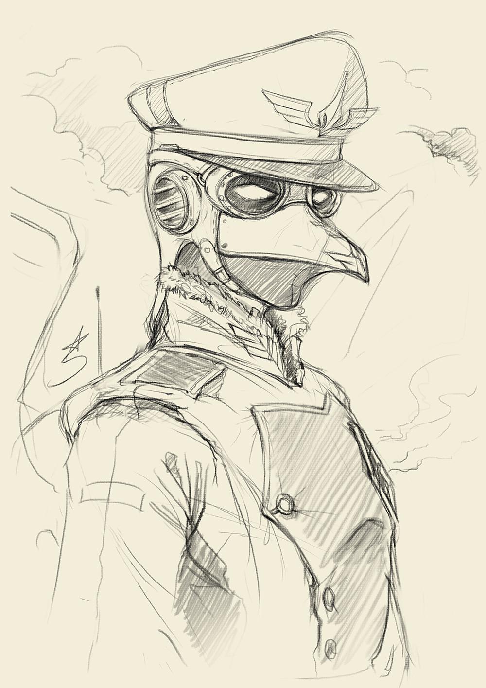 Portrait doodle :)