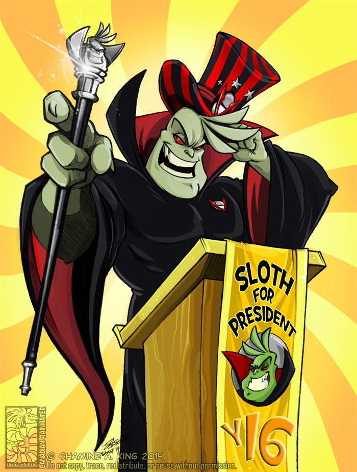 Sloth for President (2014)