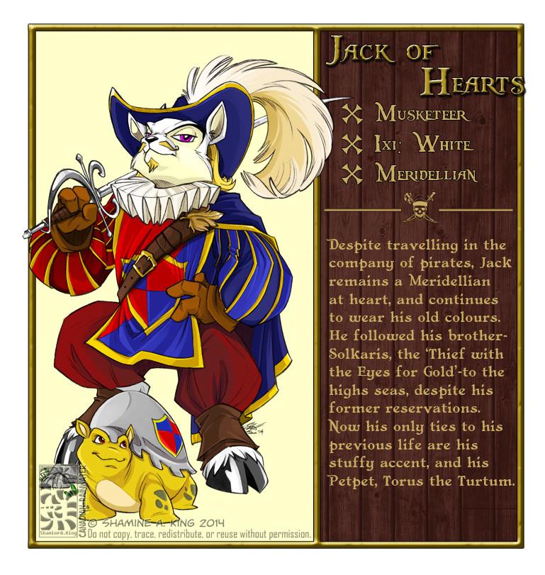 Neopet Profiles (2014): Jack of Hearts