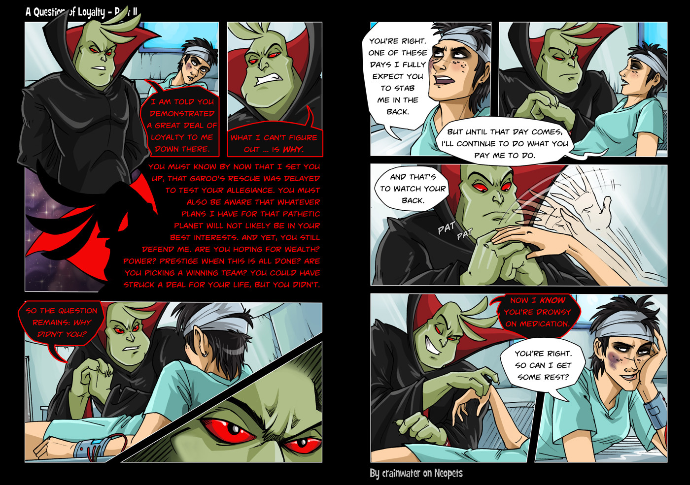 A Question of Loyalty: Page 11 (2013)
