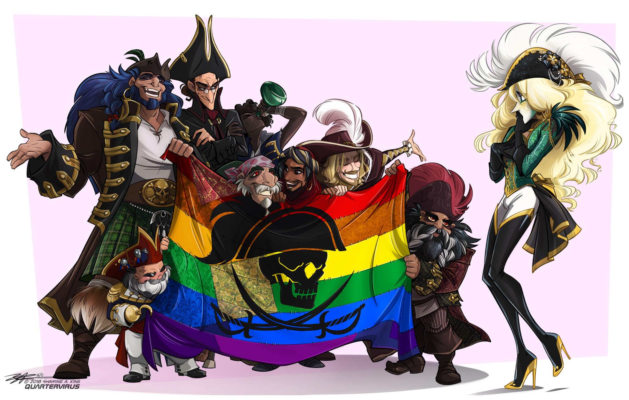 Pride Pirates - all aboard the HMS Allies!