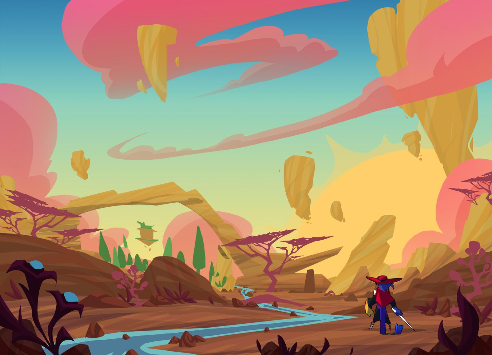Big Bad Bounty | Environment Concepts 01