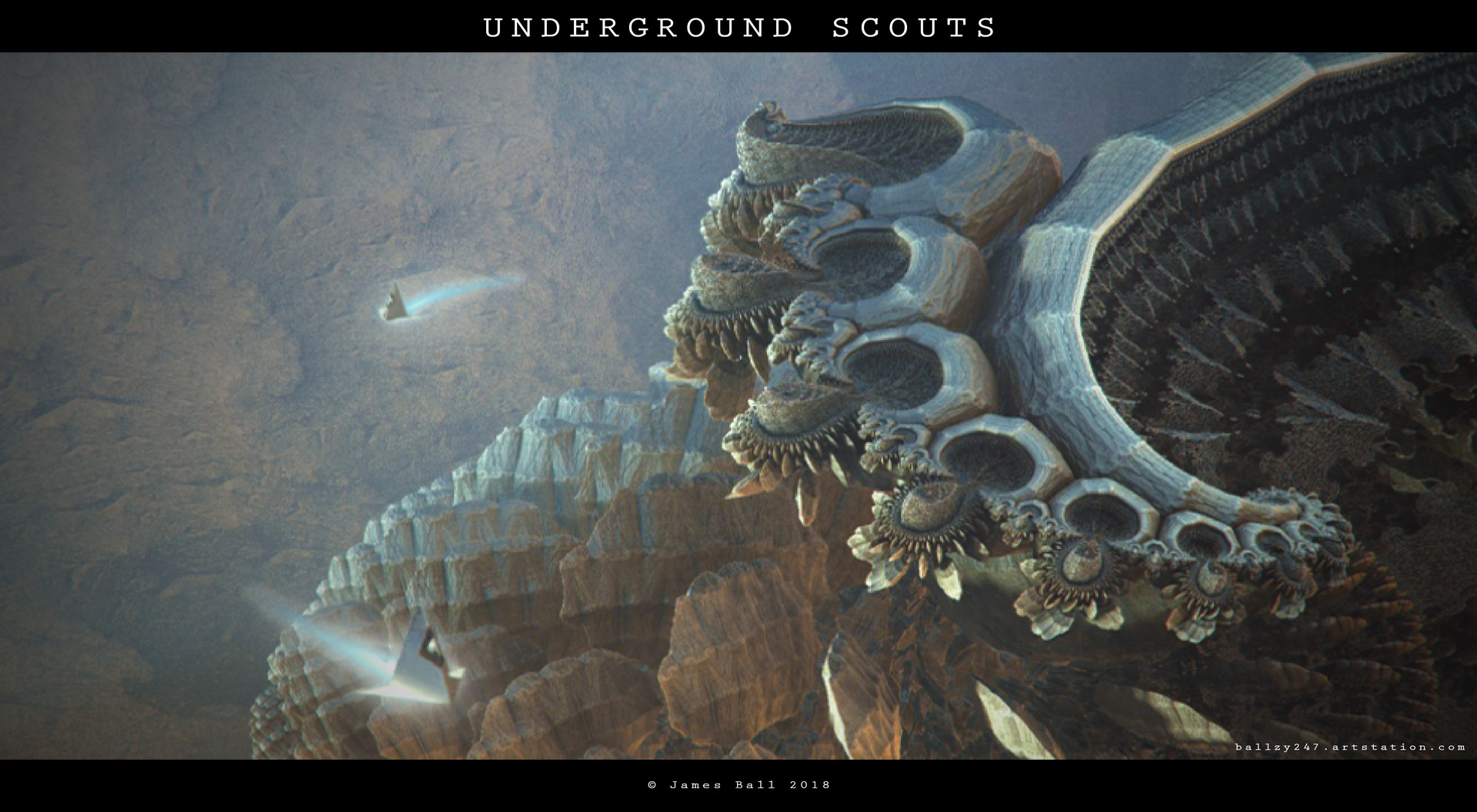 James ball underground scouts final by james ball