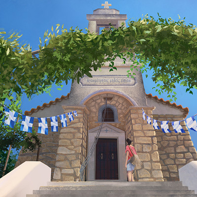 Michiel van den heuvel greece kalamata chapel michielvdheuvel