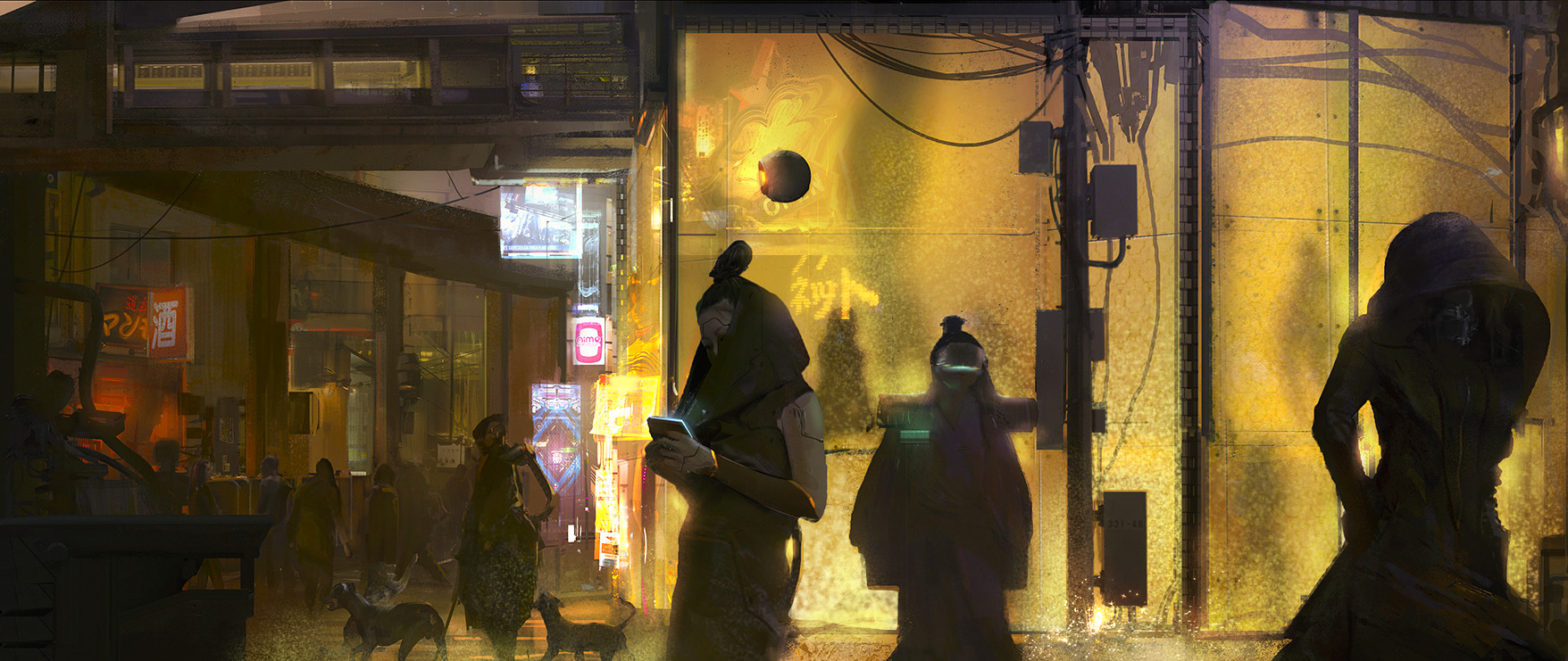Liang mark cyberpunk