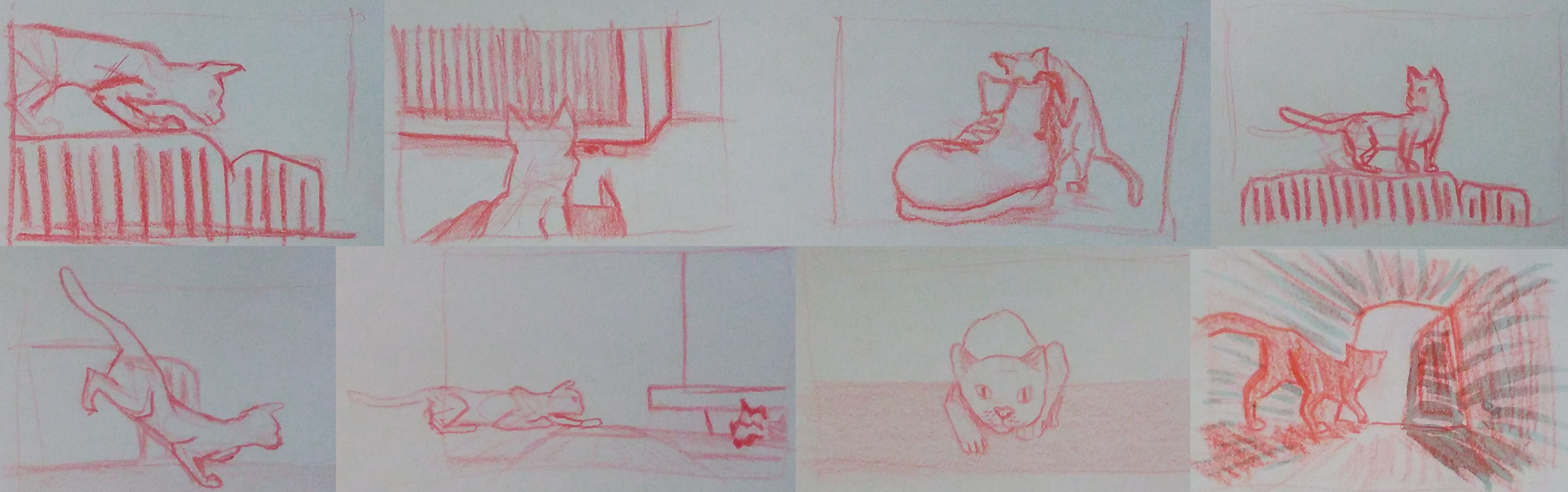 some vignettes before storyboarding