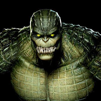 Jeremy roberts killer croc by jprart d9t2z46