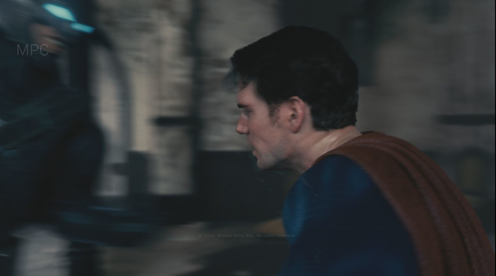 Responsible full CG character lighting, full look dev on Batman and shot specific skin look dev on Superman