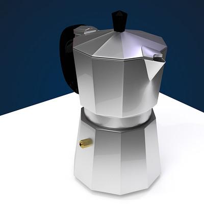 Bella stijn italian moka machine final render 1