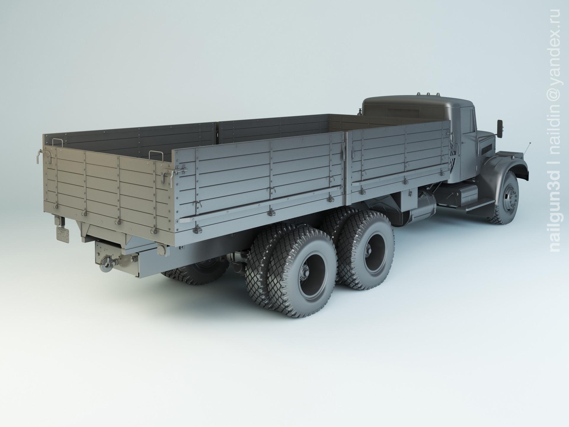 Nail khusnutdinov alg 030 001 kraz 257b1 modelling 1