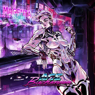 Atom cyber magenta nigths digital release