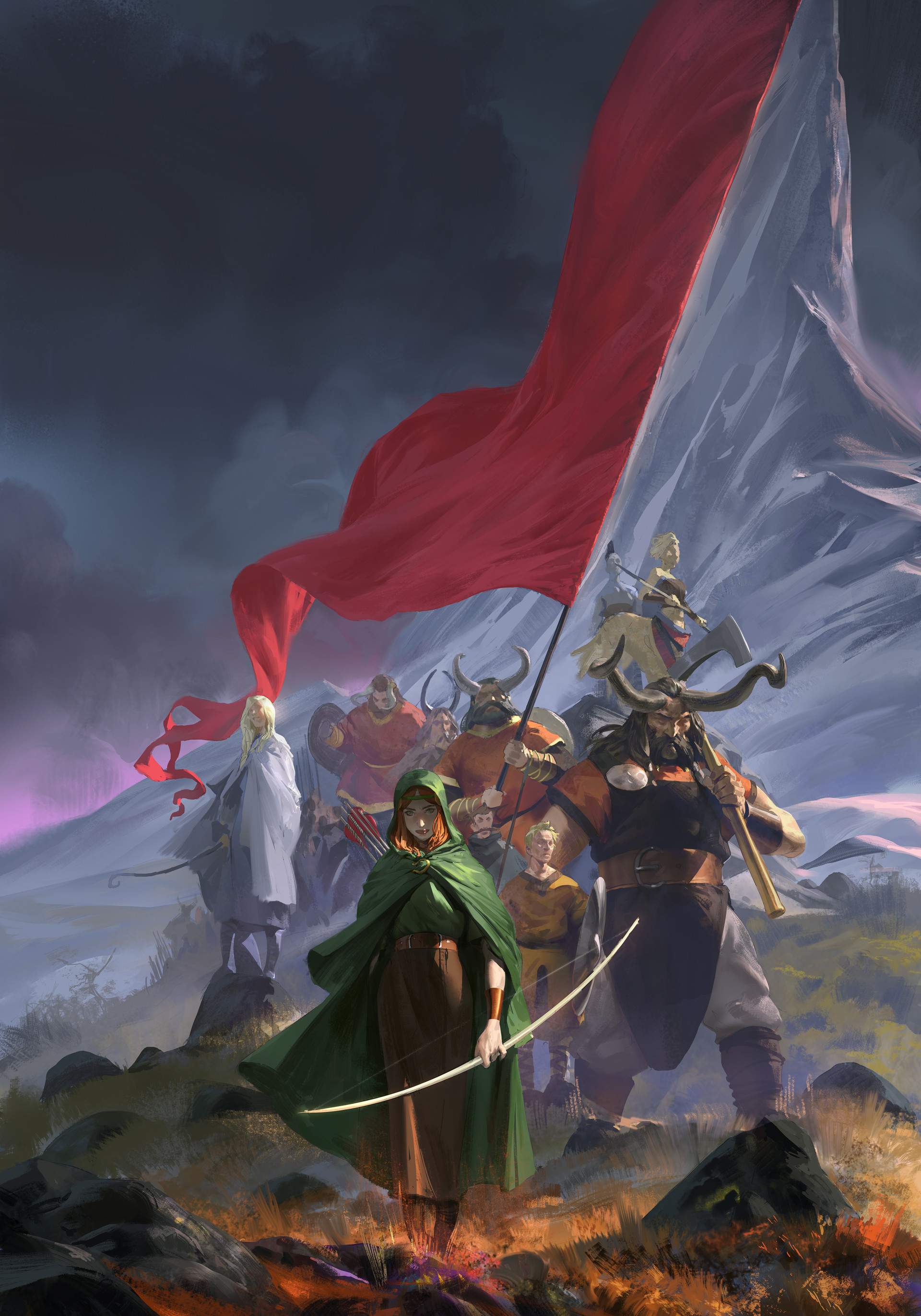 Even amundsen banner saga small