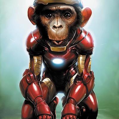 Jeremy roberts iron chimp