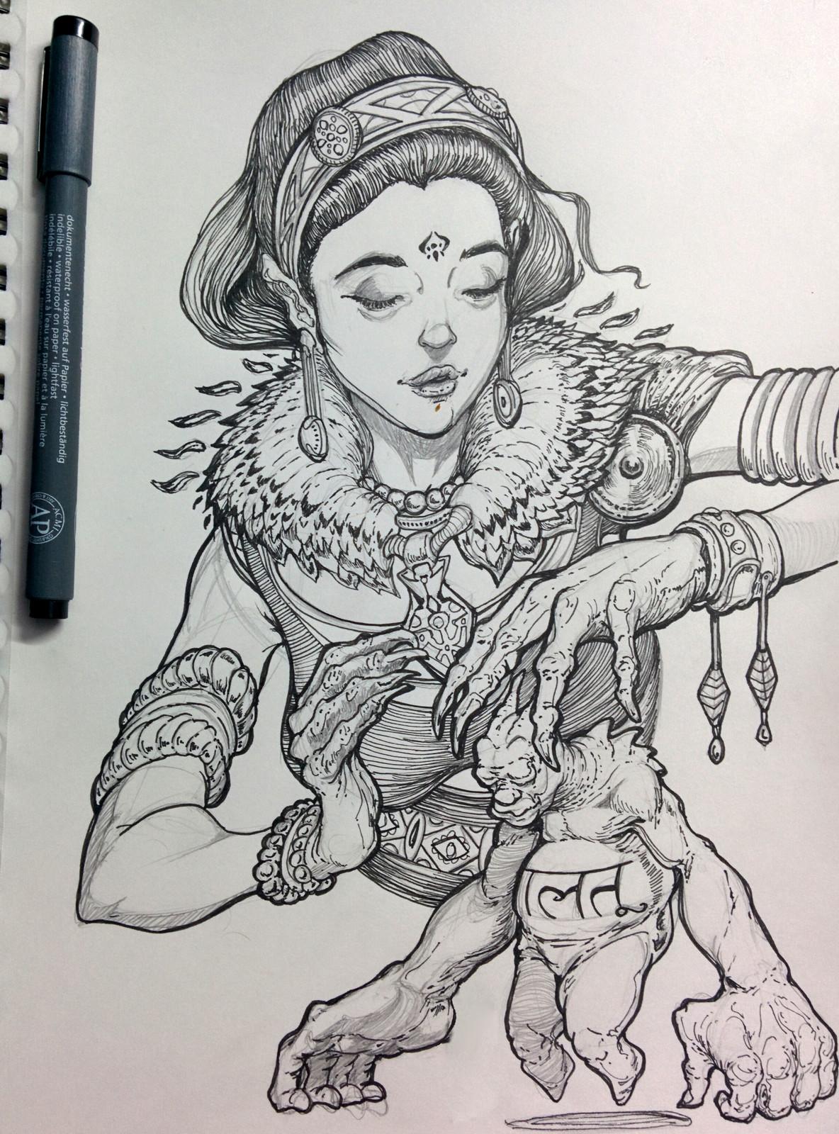 Sketchbook pages - 6