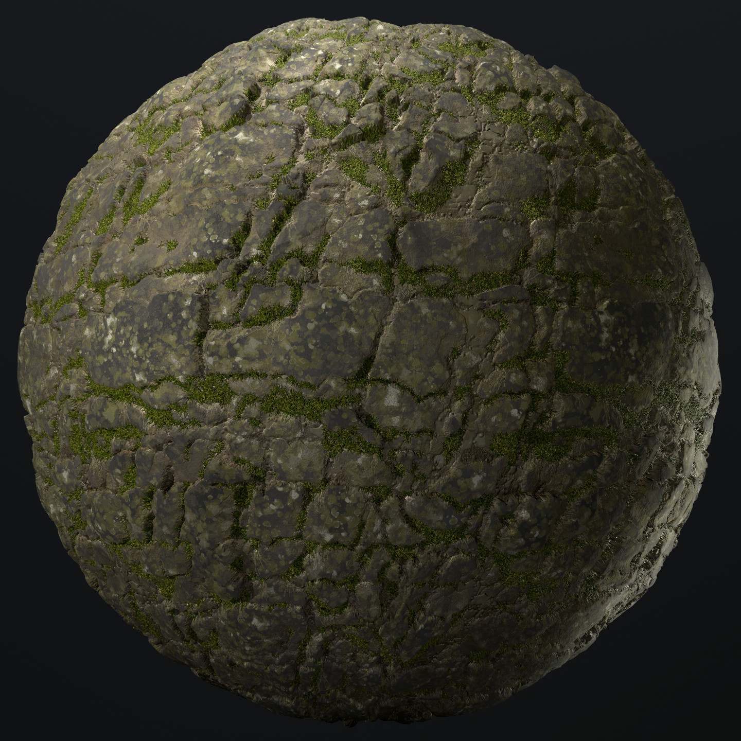 Stone and Grass From a tutorial by Allegorithmic: https://youtu.be/foyfgfjQbK4