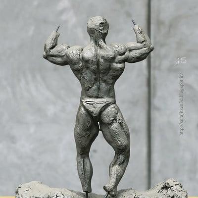 Surajit sen speed sculpt ifbb body by surajit sen