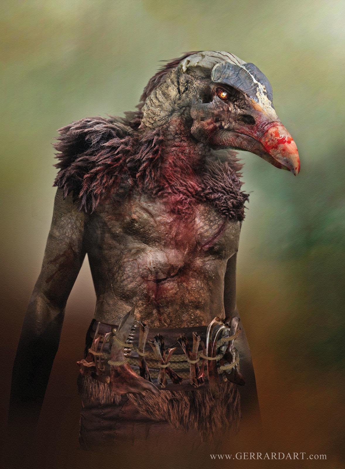 Vulturman From Art of Gerrard vol2 RIVALS.   https://gerrardian.bigcartel.com/