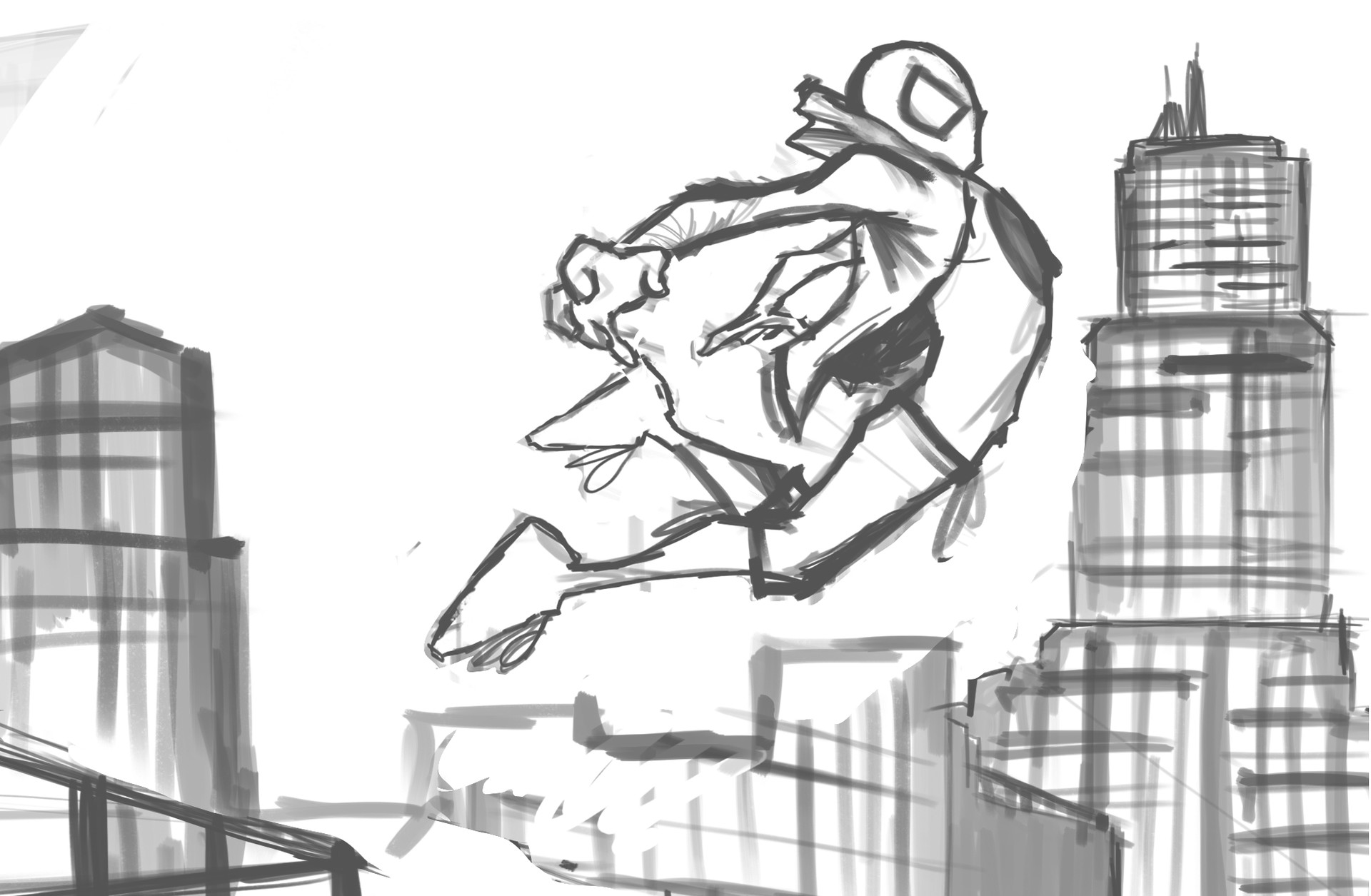 Gbenle maverick spiderverse rough