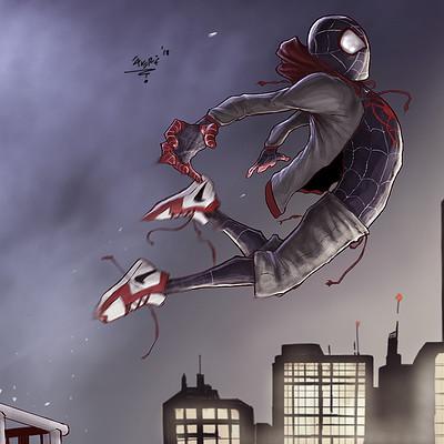 Gbenle maverick spiderverse complete