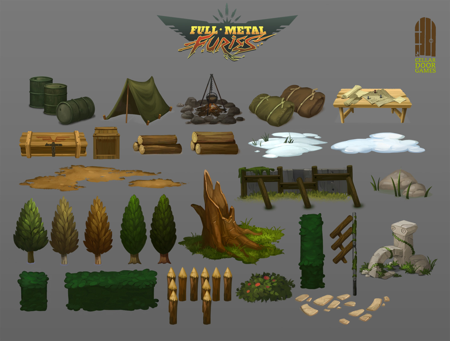Forest World Assets (Foloi)