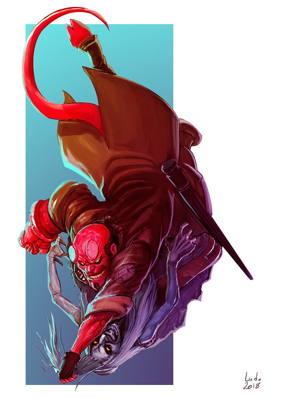 Hellboy vs Baba Yaga