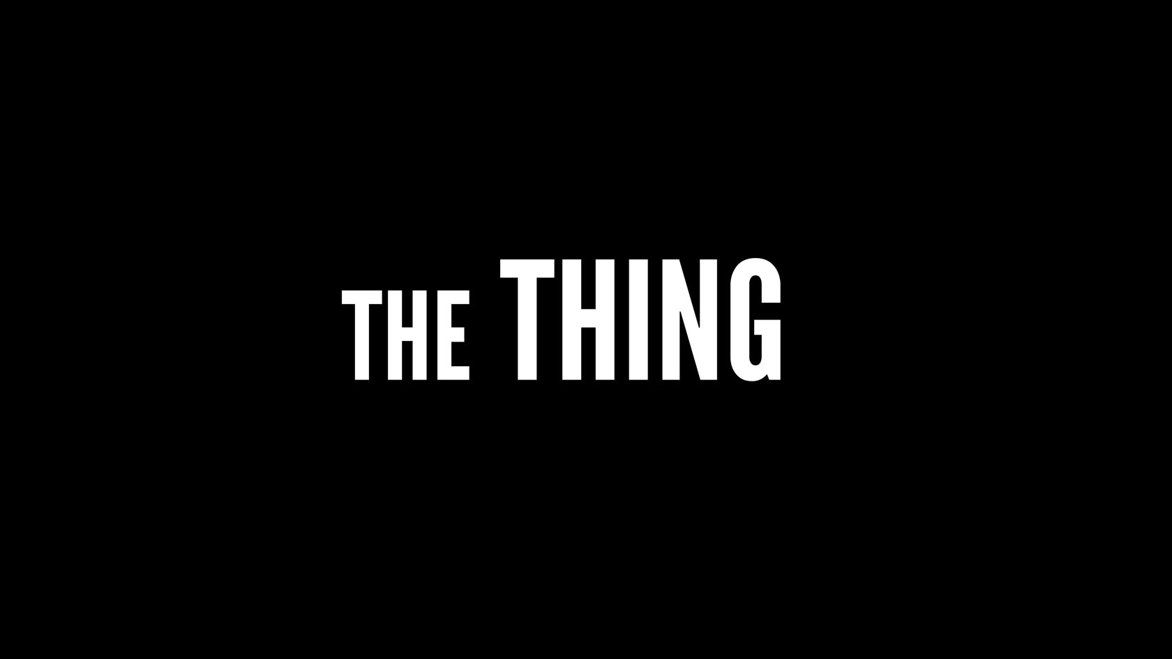 Timo peter screen the thing