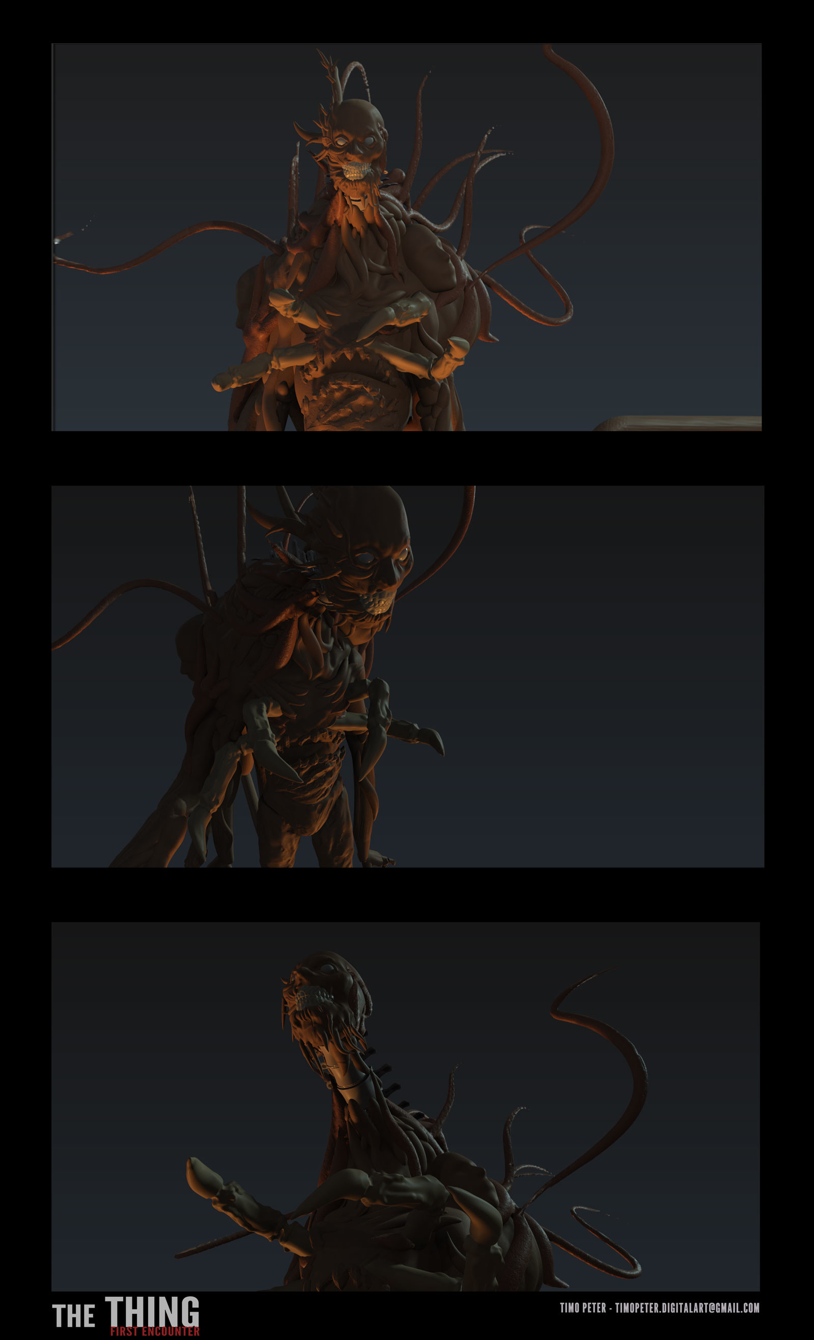 Timo peter creature render