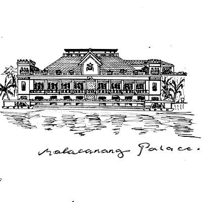Honey arriola malacanang palace 2011