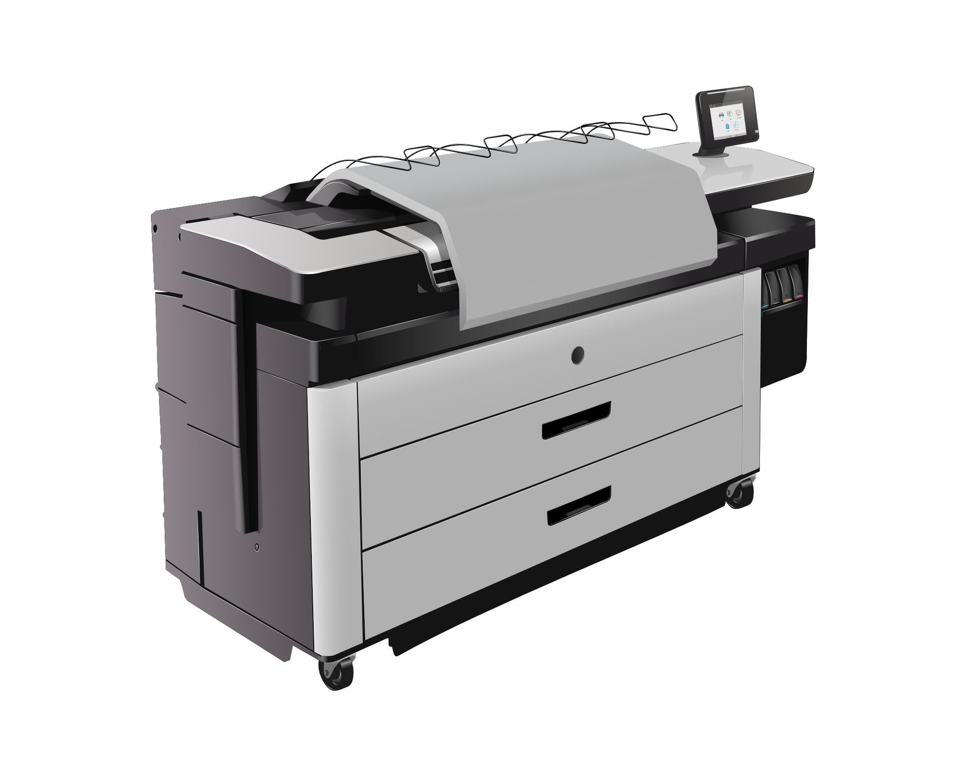 Gerard falla vector illus plotter