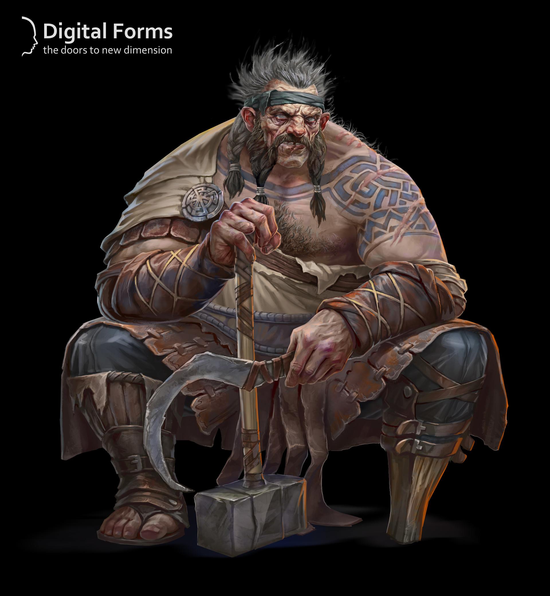 Digital forms blacksmith