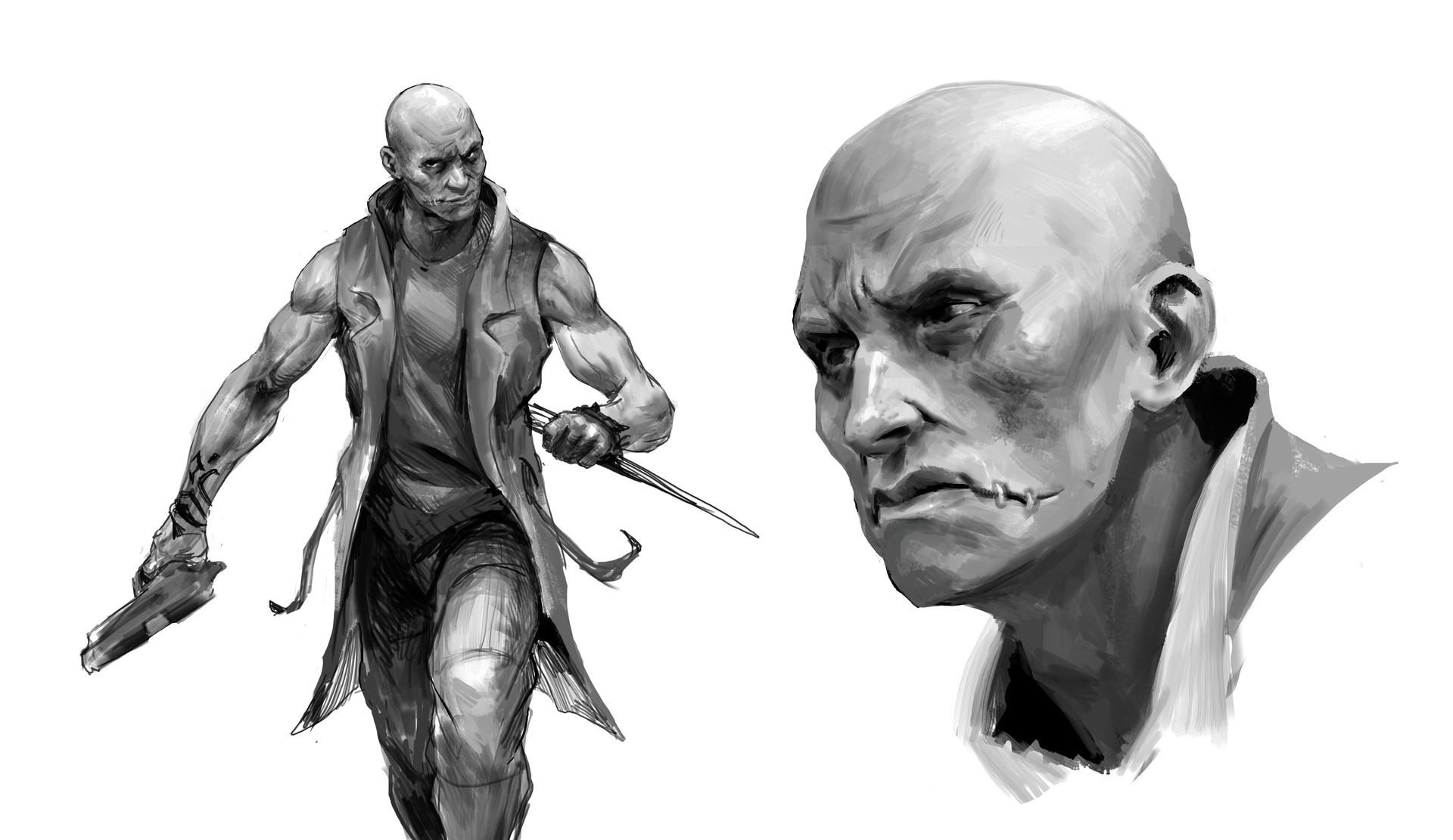 Miro petrov bald character