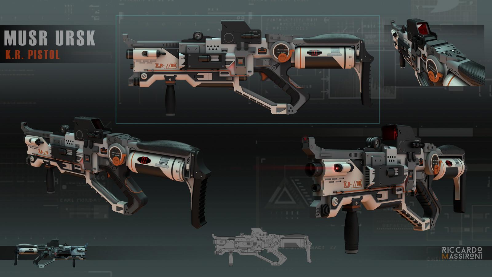 MURS URKS - Pistol