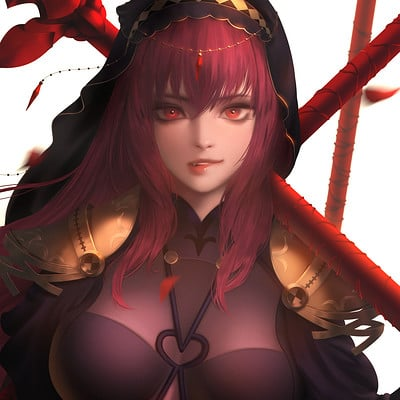 Seungyoon lee   fategrand order scathach2