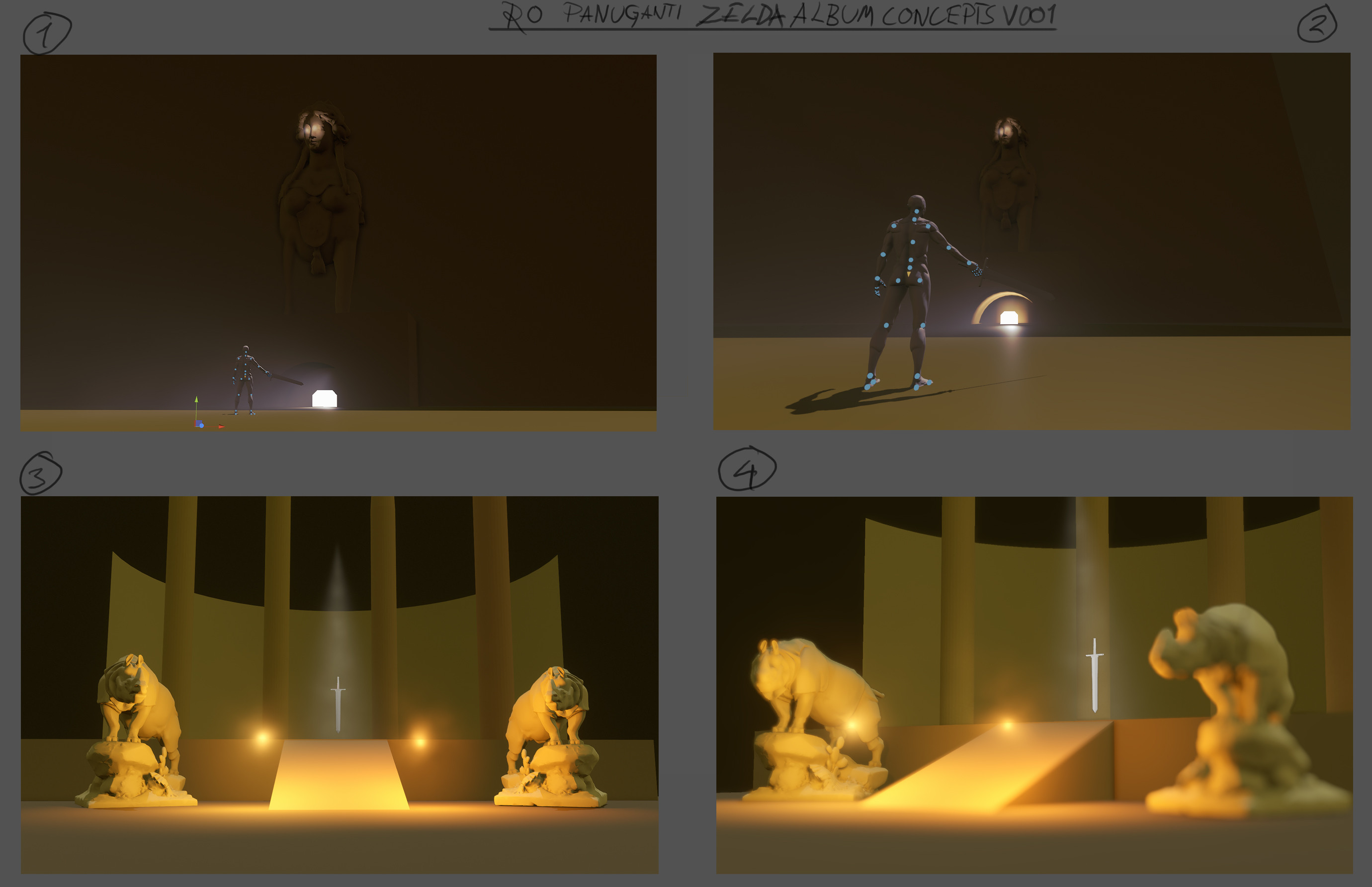 The 3D Thumbnails made in Portrait studio. We liked both no. 1 the most.