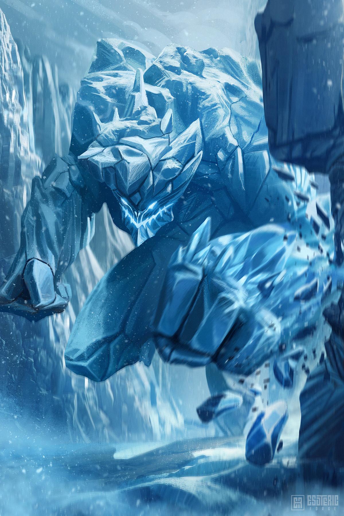Ivan sevic ice golem