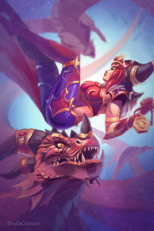 Iulia crimson dragons 3