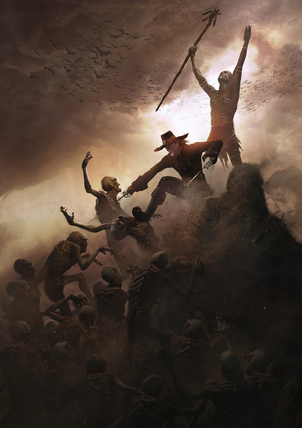 Guillem h pongiluppi solomon kane story 10 the hills of the dex zombie attack