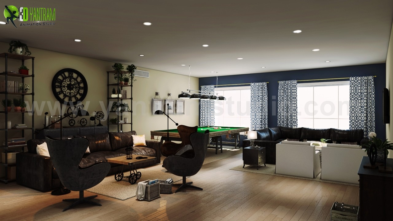 ArtStation - Modern High Rise Apartment Elevation Design by Yantram ...