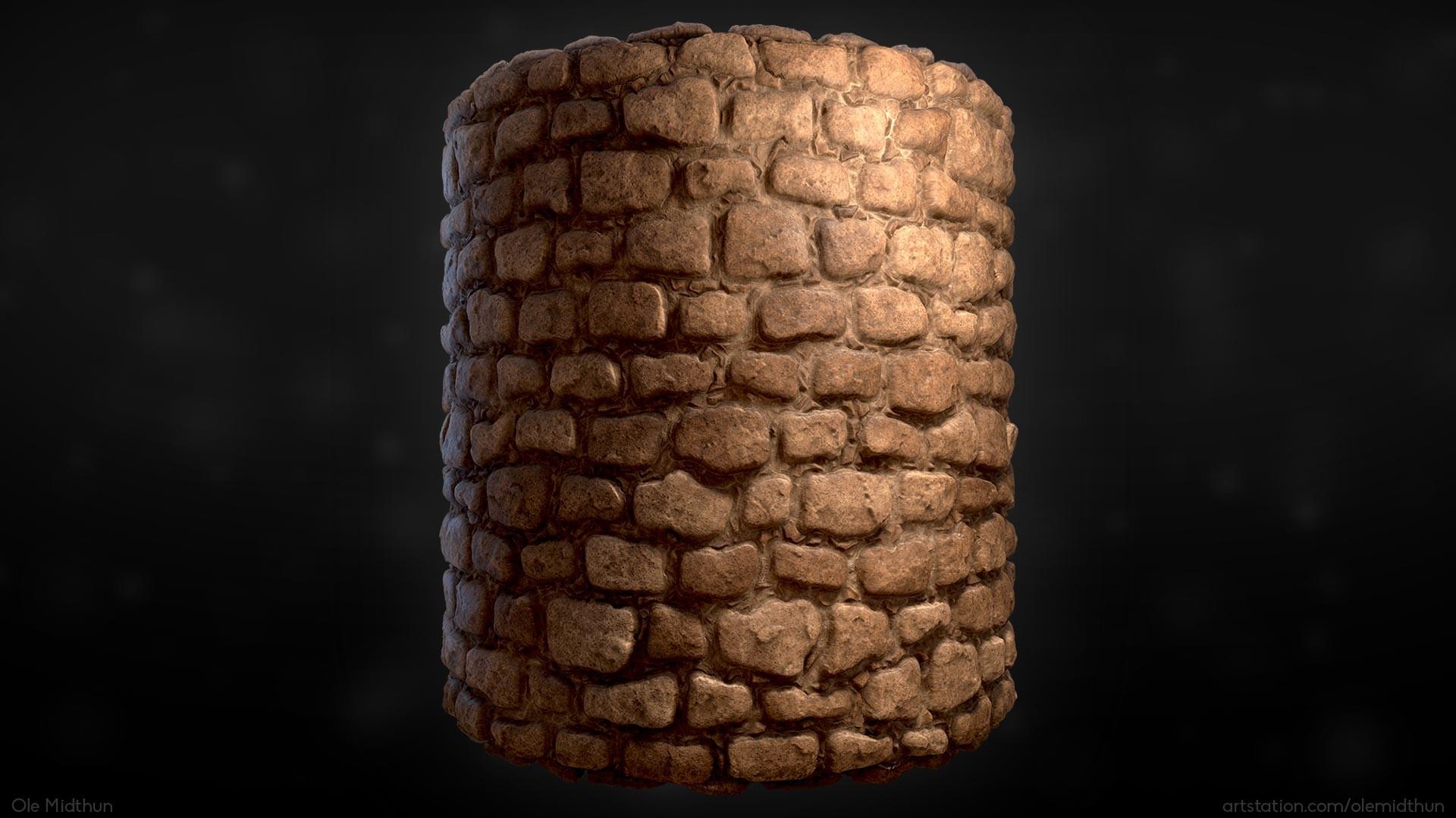 Ole midthun stone wall 2 render 08
