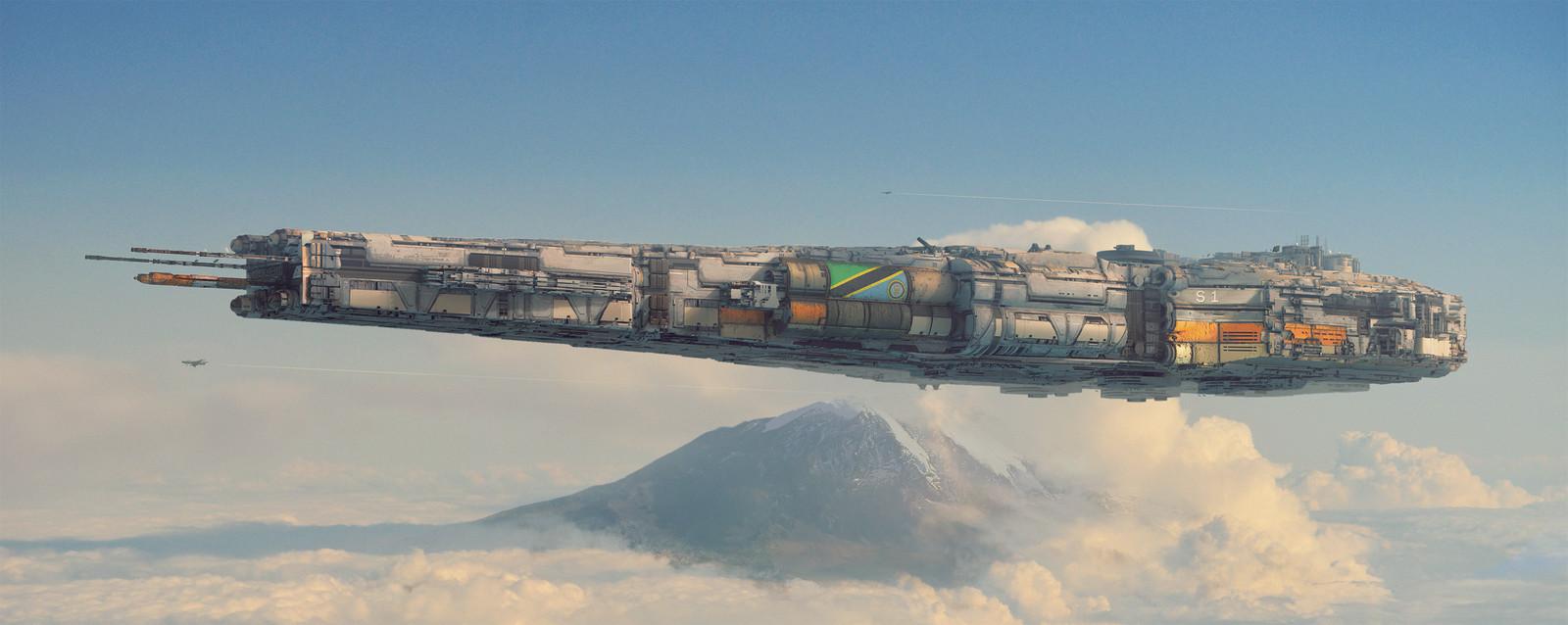 Aviation Series 3: The Serengeti-1 Battlecruiser