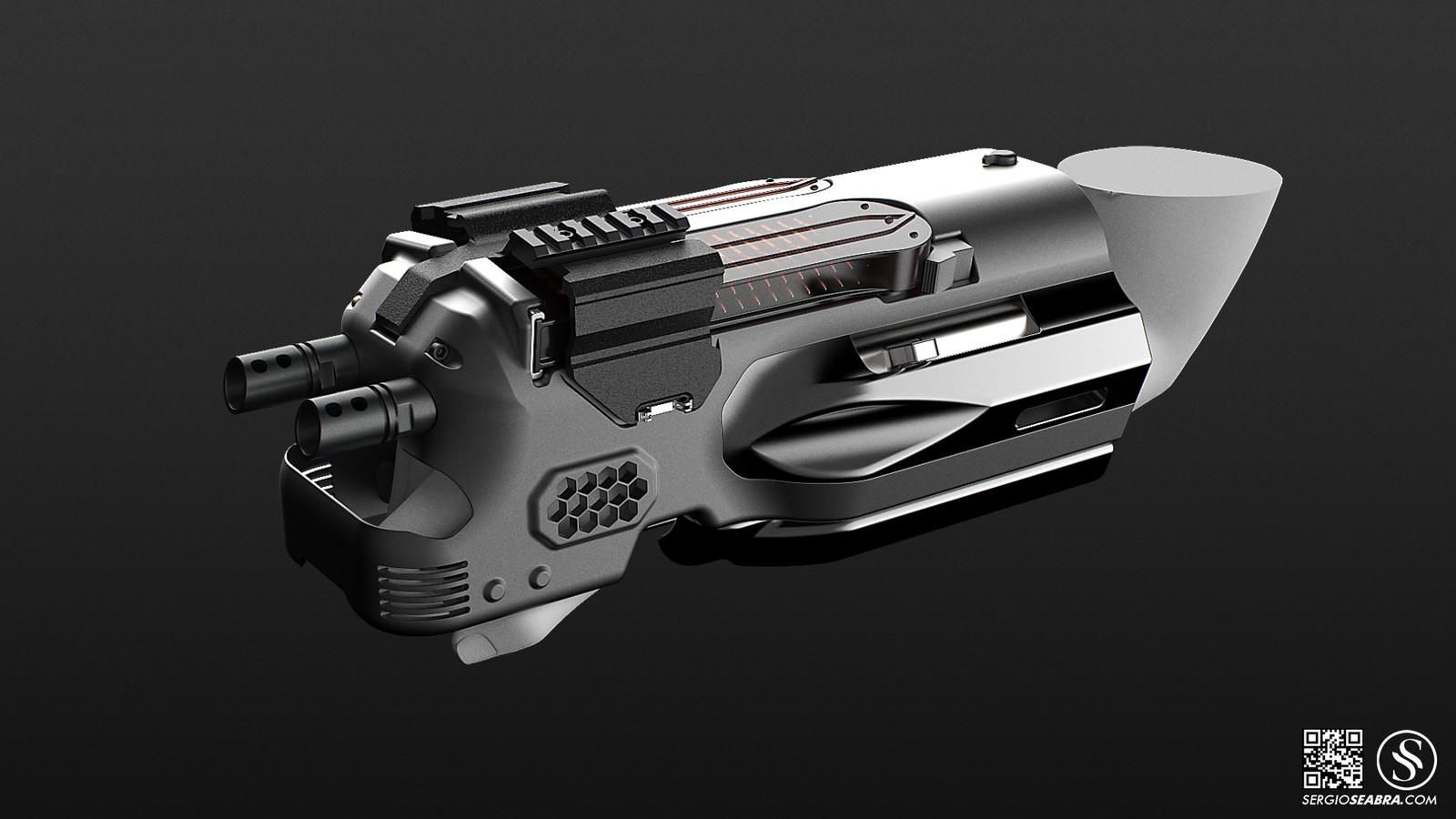 P90_Arm Gun 1