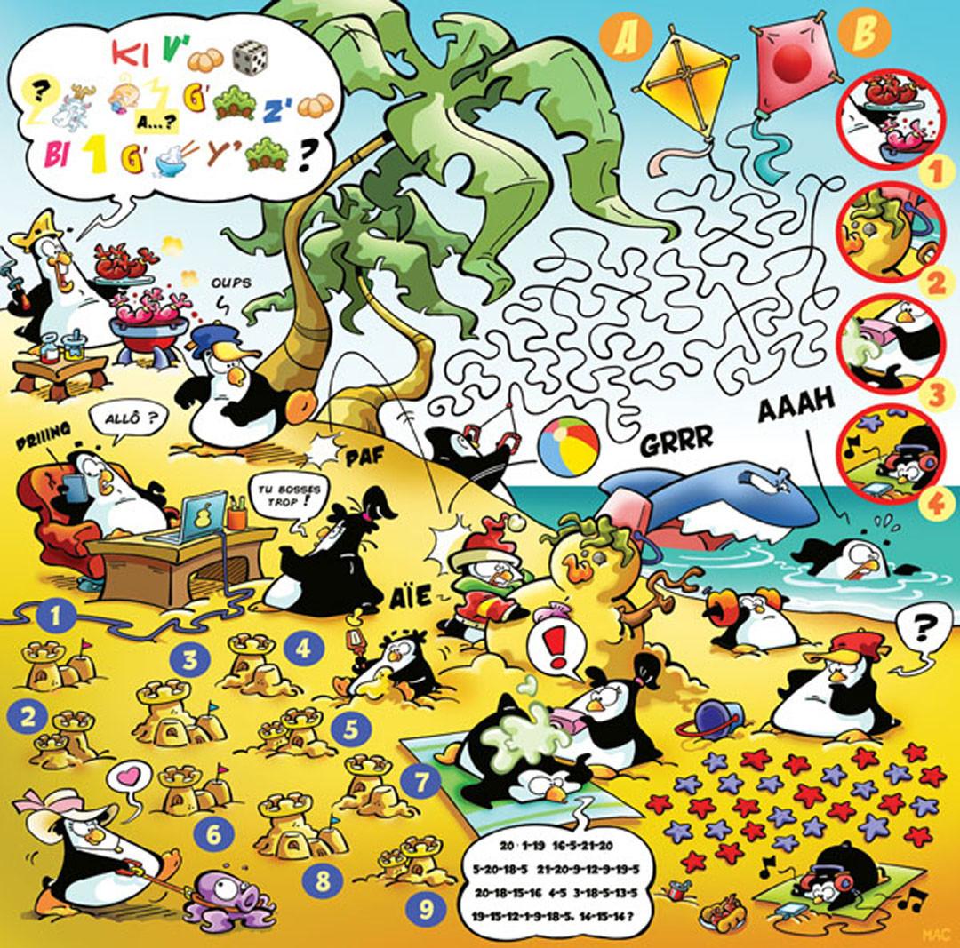 Publie durant le moins de juillet 2018 dans le Journal de Mickey