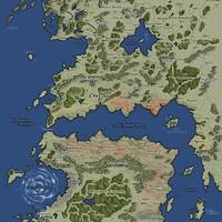 ArtStation - Avatar the Last Airbender World Map, James Nalepa