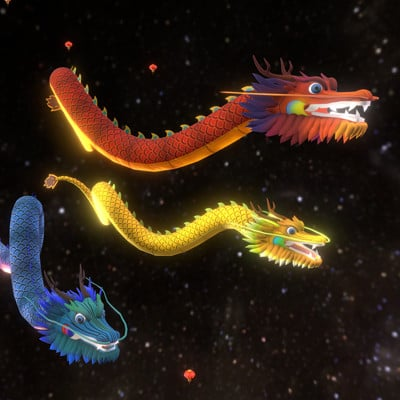 Ray rossetti chinese dragons 1