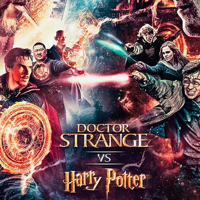 Nick tam drstrange vs harrypotter crossover v1