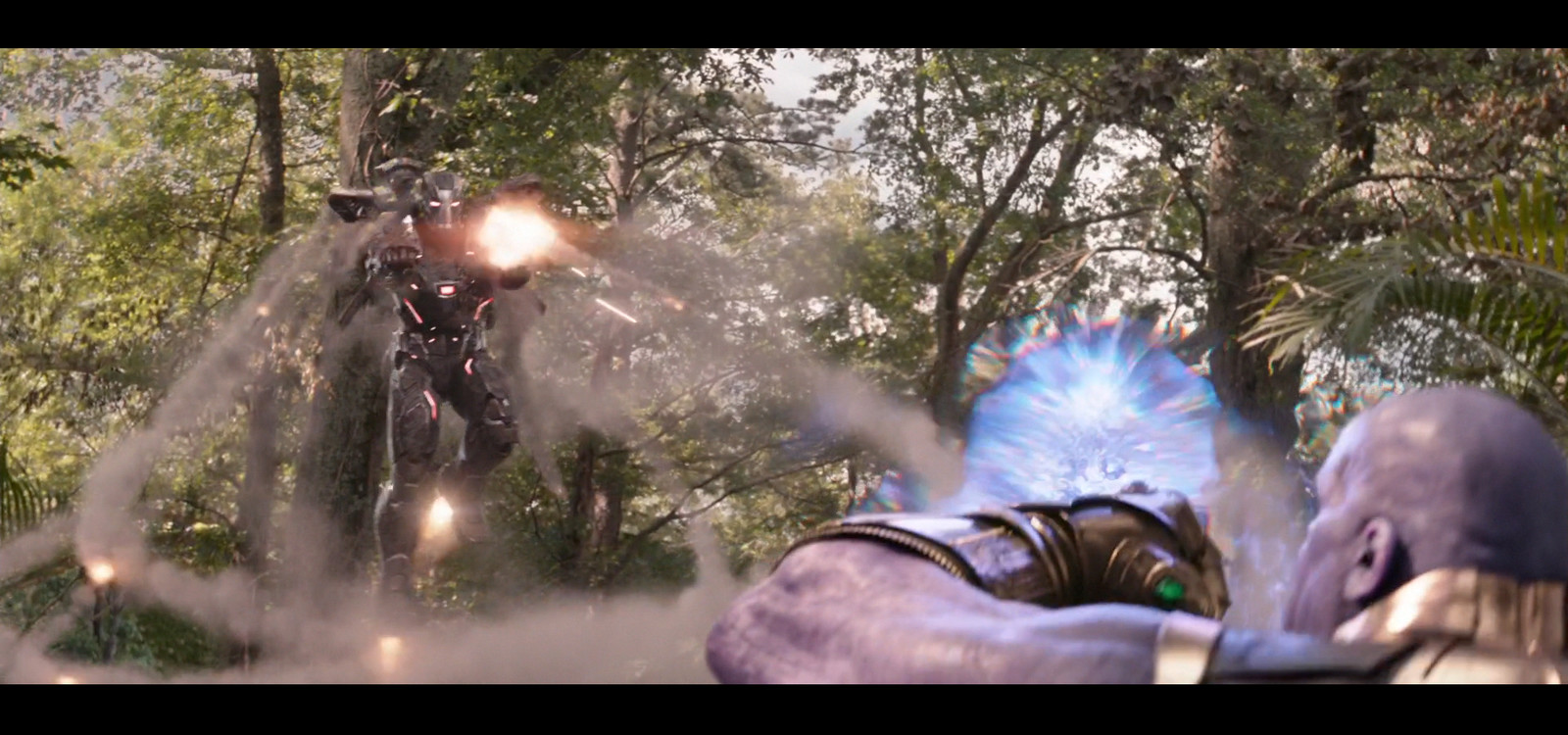 Thanos Lighting (War Machine from ILM)