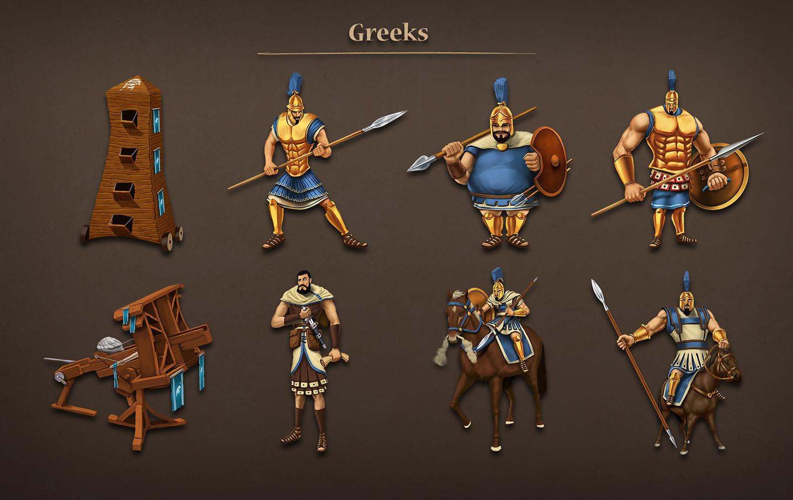 Greek units
